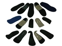 orthotics are customised to all shapes & sizes